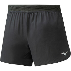 Mizuno ER 4.5 2in1 Shortsit Naiset, black